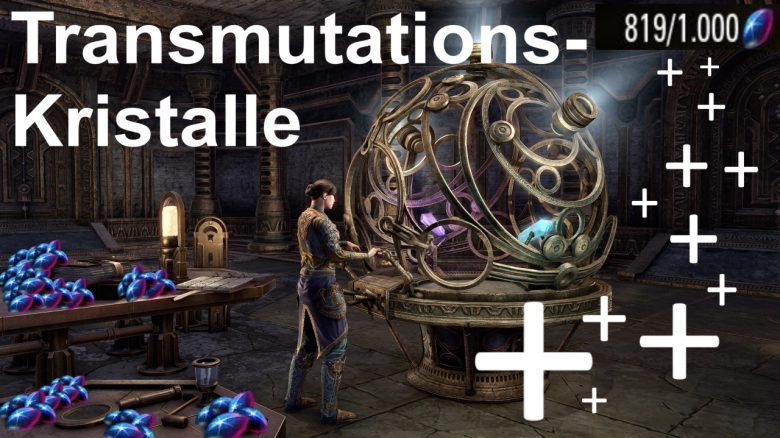ESO: Guide zum Farmen von Transmutationskristallen