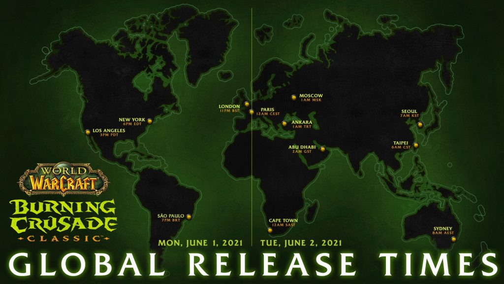 WoW CLassic Releasezeit