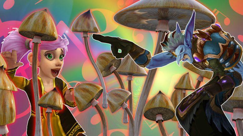 WoW: In Patch 9.1 könnt ihr euch mit Drogen-Pilzen vollballern