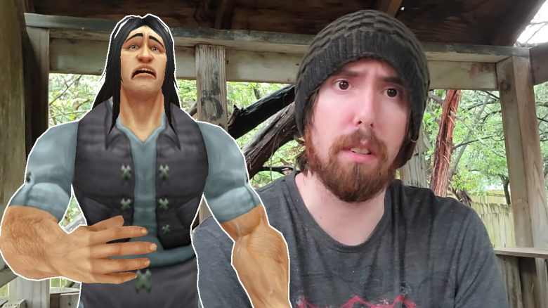 WoW Human Sad Asmongold Talking Treehouse title titel 1280x720