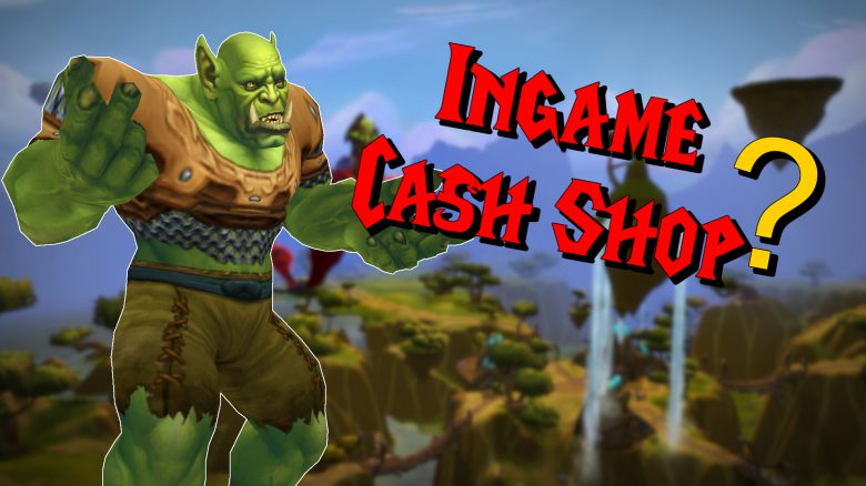 WoW Ingame Cash Shop titel Title