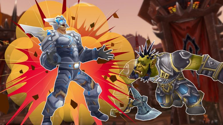 WoW Paladin Explosion Orc Death titel title 1280x720