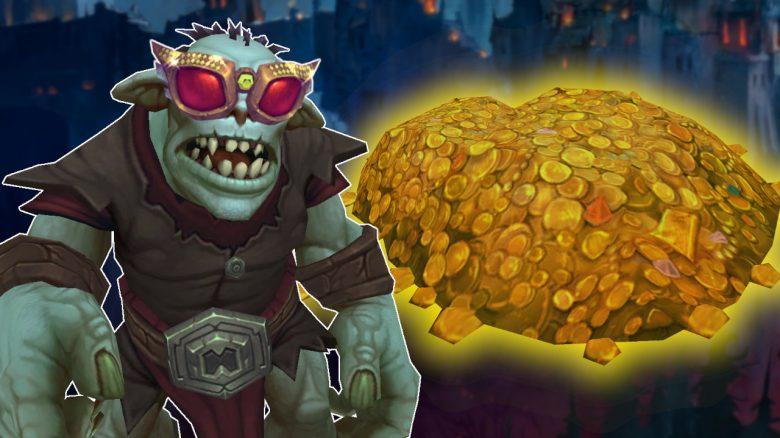 Der reichste NPC von WoW wirft euch in Patch 9.1 mit Gold zu – und ihr seid schuld