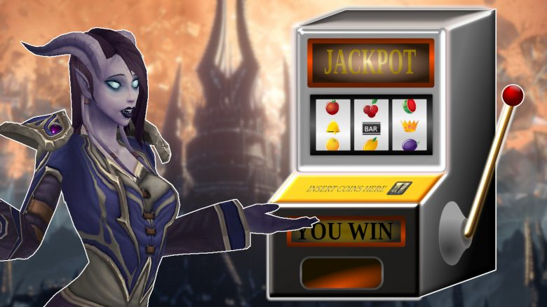 WoW Slot Machine Draenei titel title 1280x720