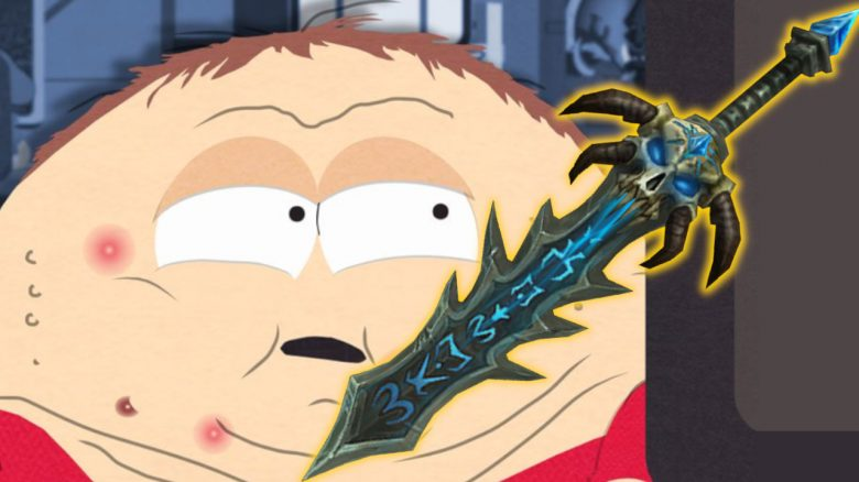 WoW South Park Cartman Sword titel title 1280x720