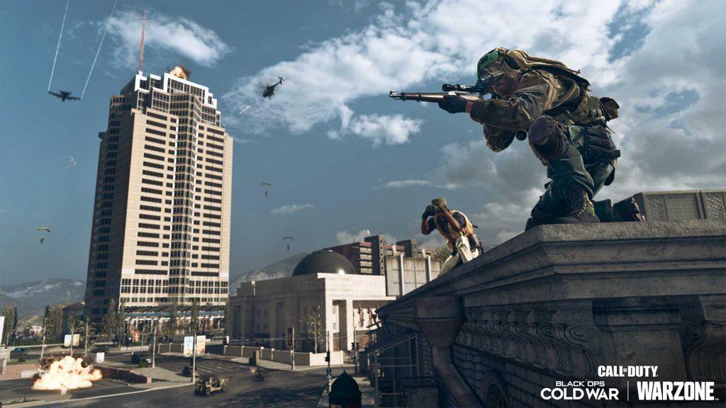 cod warzone mid season 3 Nakatomi Plaza