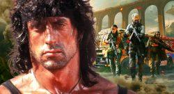 Bald könnt ihr CoD Warzone tatsächlich als Rambo aufmischen – Trailer und Termin