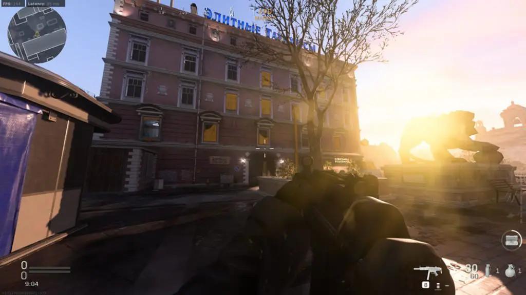 cod warzone sun glare - lens flare