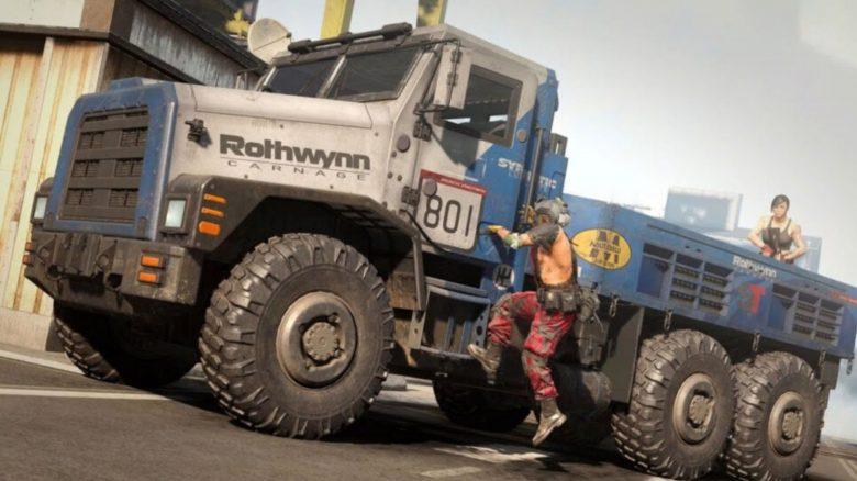 cod warzone truck der todes titel