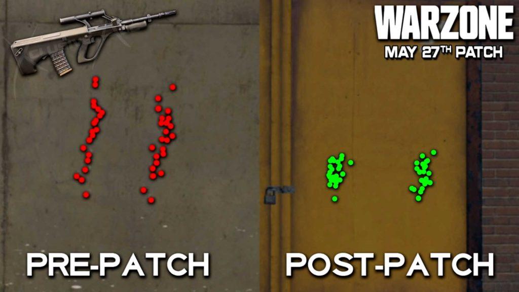 cod warzone update 270521 - aug anpassungen