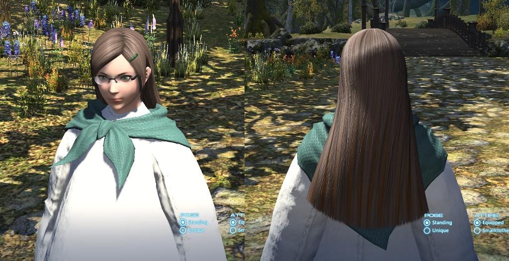 ffxiv lange haare frisur