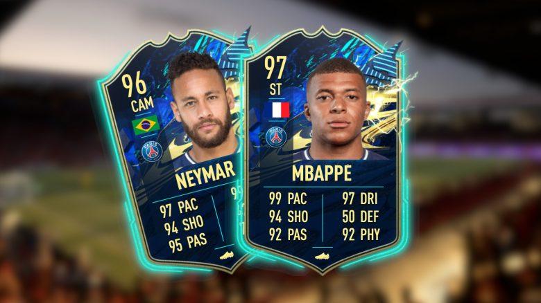 FIFA 21: Das TOTS der Ligue 1 ist jetzt live – mit Mbappé und Neymar