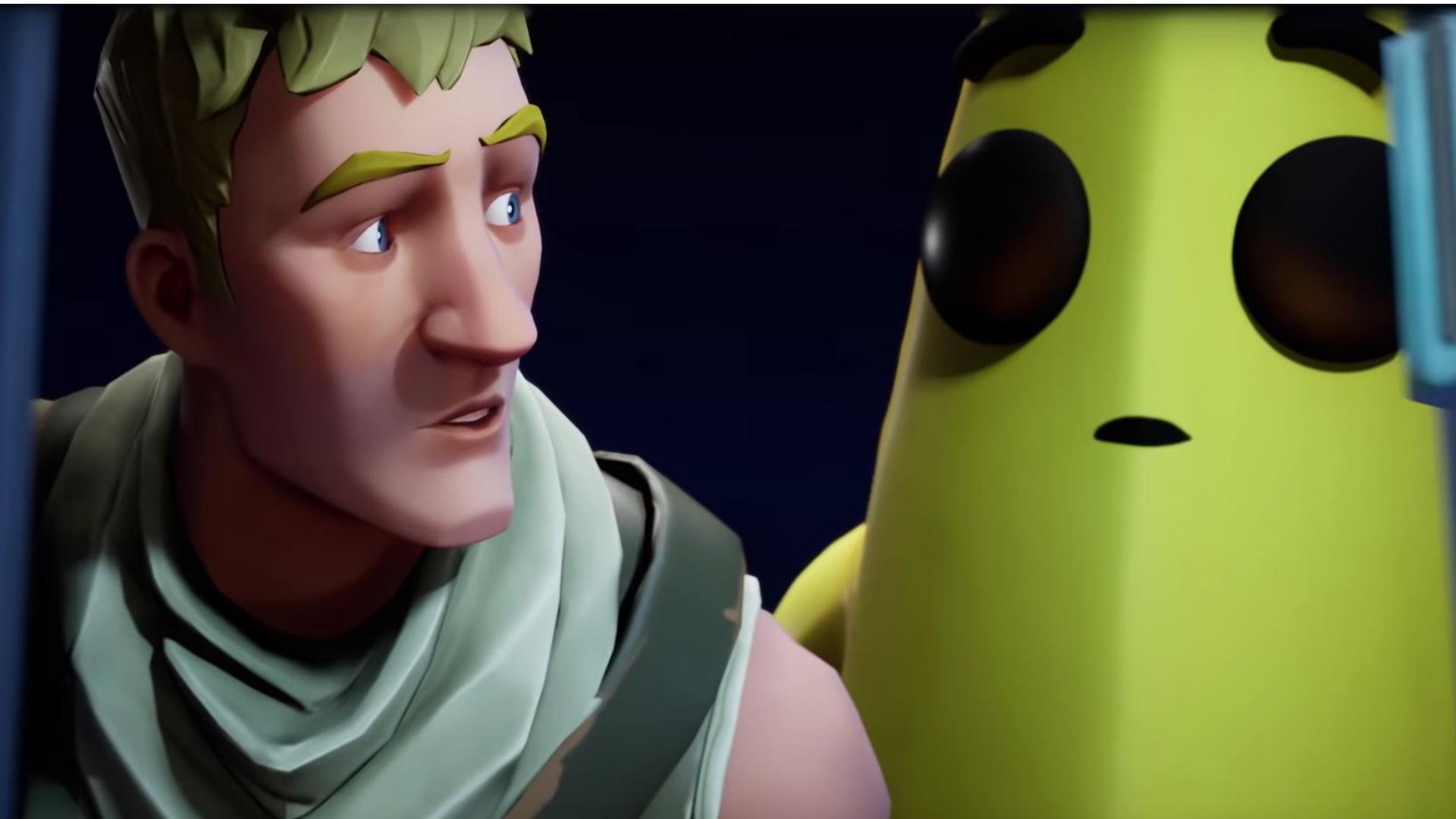 Alle lieben die Banane in Fortnite – Das steckt hinter dem schießenden Obst