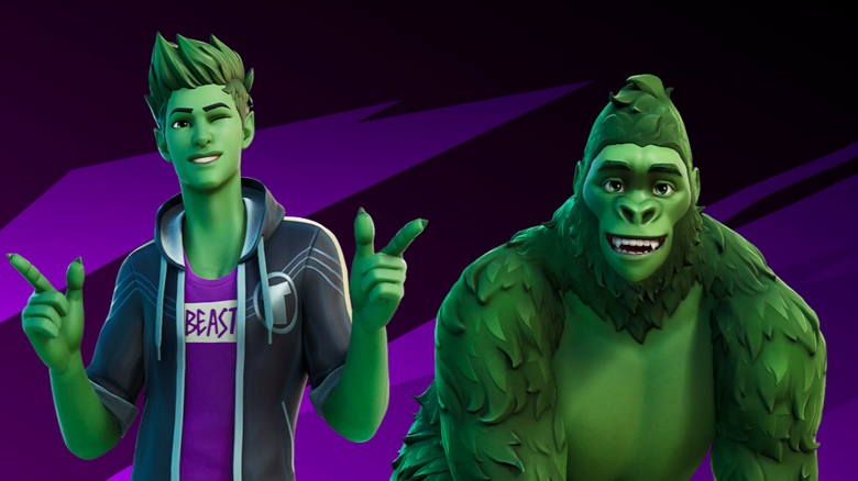fortnite beast boy titel