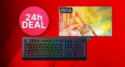MediaMarkt 24-Stunden-Deal: Razer Gaming-Tastatur & Samsung 4K TV zum Bestpreis