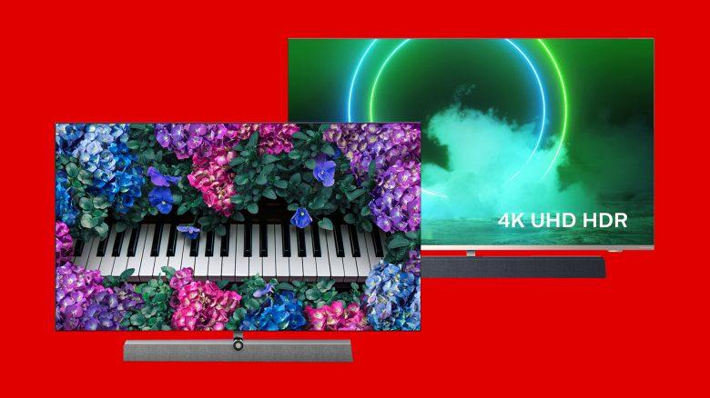 MediaMarkt Angebot: Philips OLED 4K TV mit Ambilight zum Bestpreis