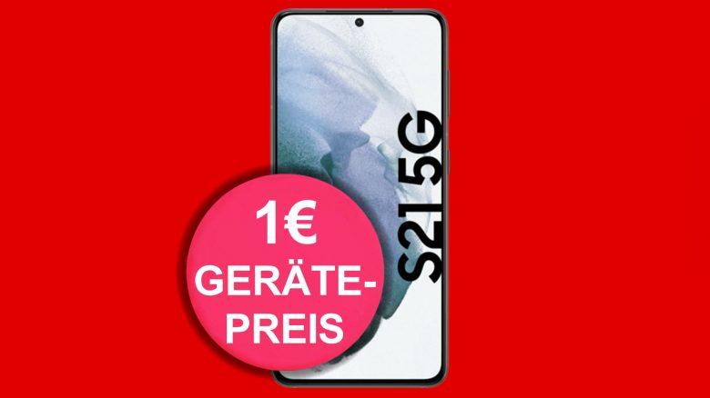 Galaxy S21 mit bis zu 120 GB LTE-Tarif & Flatrate günstig bei MediaMarkt