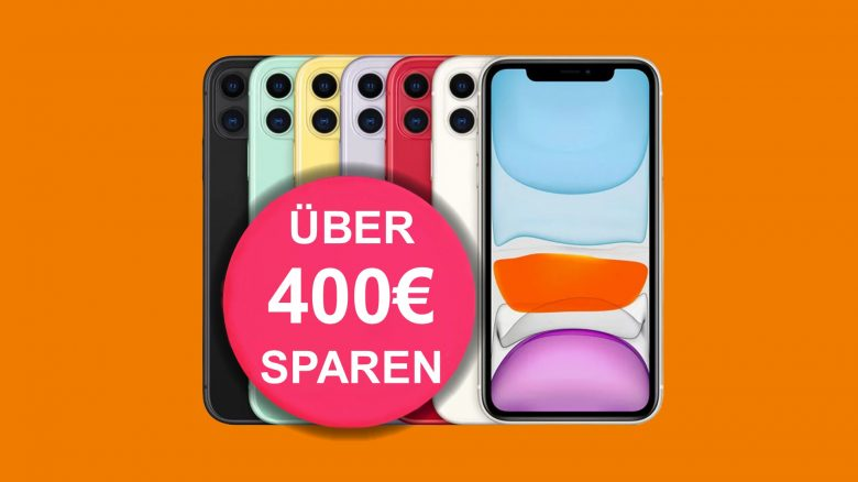 Apple iPhone 11 mit 60 GB LTE-Tarif aktuell günstig bei Saturn.de