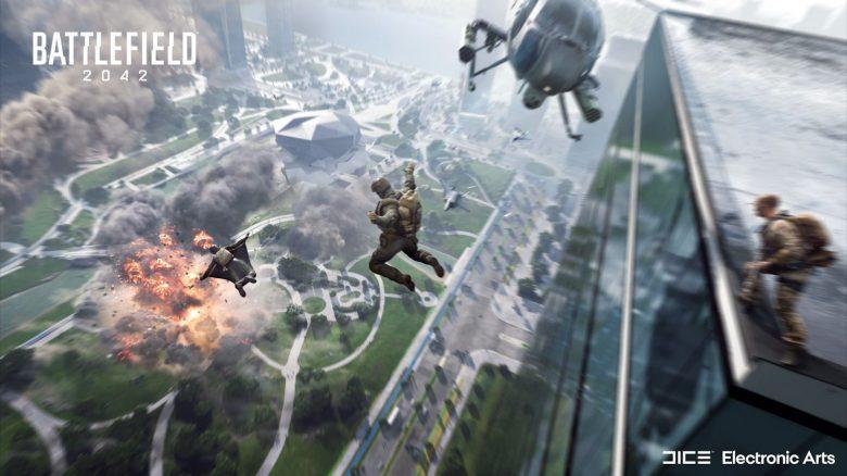 Battlefield 2042 jump titel