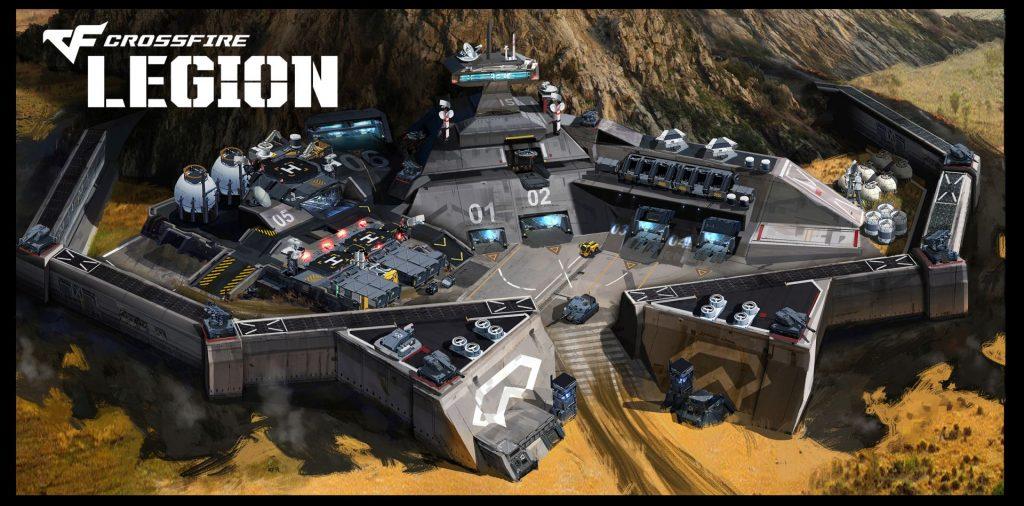 Crossfire Legion - Artwork