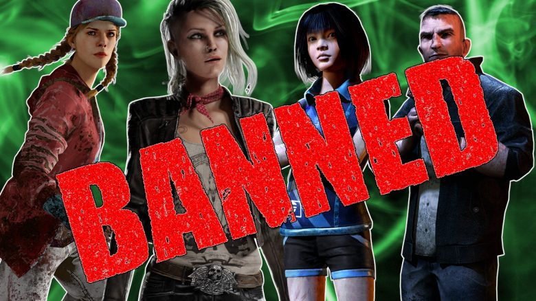 Dead by Daylight Banned Survivors titel title 1280x720