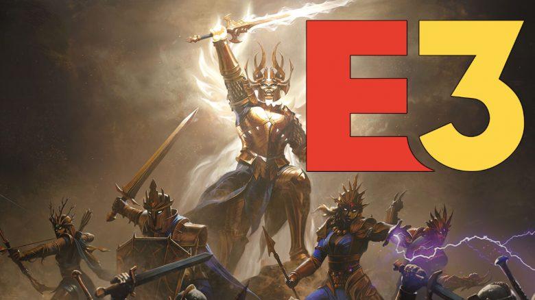 Diablo Immortal Artwork mit E3