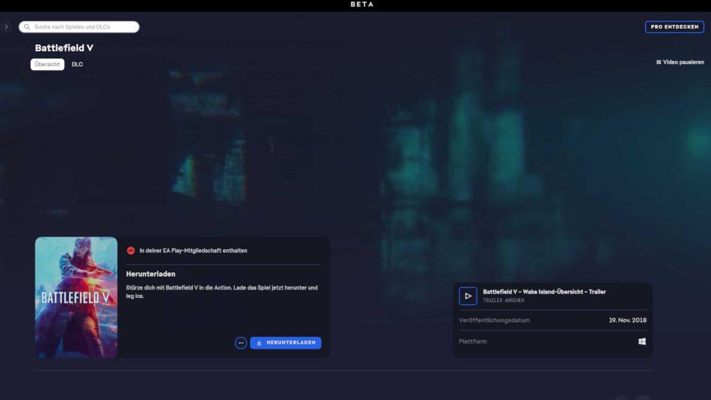 EA desktop battlefield teaser