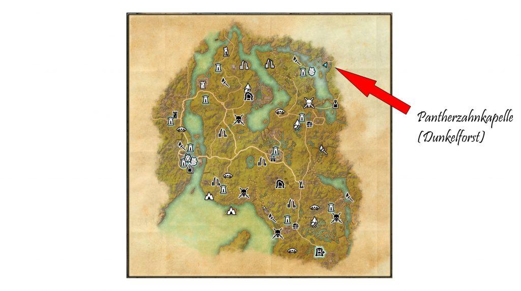 ESO Pantherzahnkapelle Dunkelforst Karte
