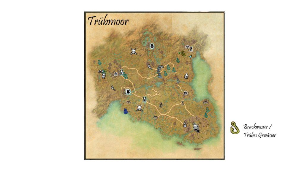 ESO Trübmoor Angel Karte