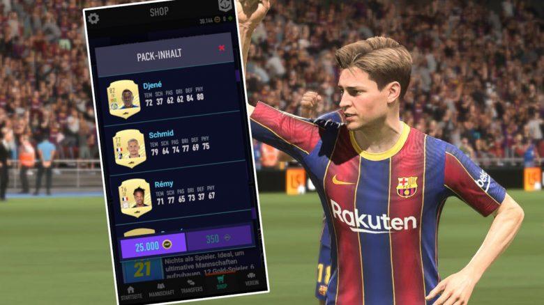 FIFA 21 22 Pack-Vorschau