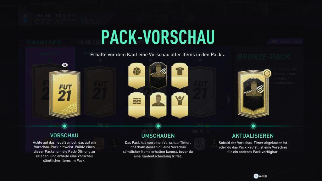 Pack-Vorschau FIFA 22