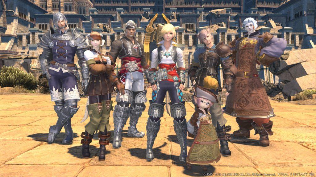 Final Fantasy XIV Rassen
