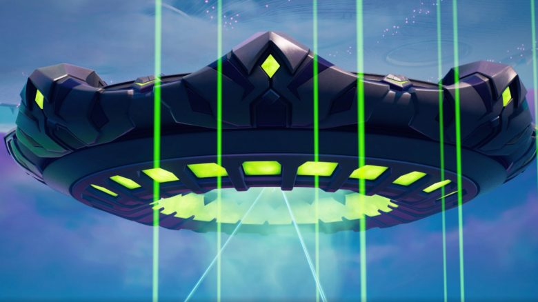Fortnite Mutterschiff UFO