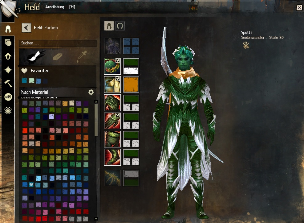 Guild Wars 2 Farben