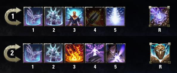 ESO Magicka Sorcerer