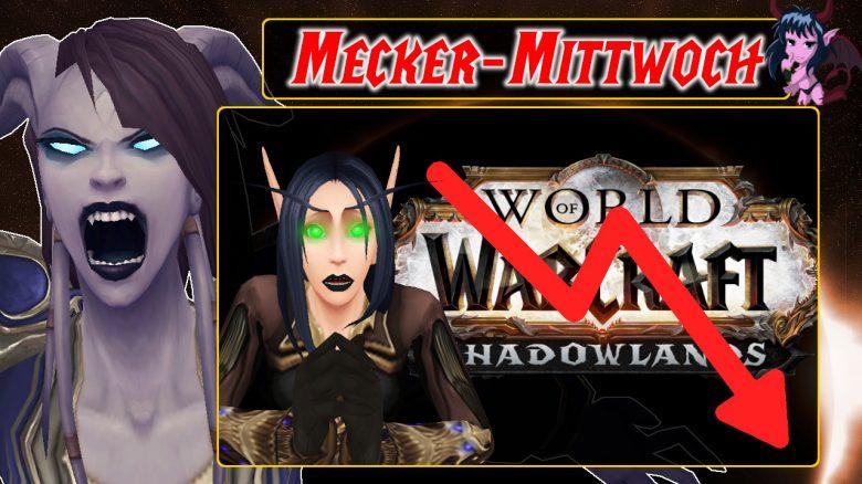 Mecker Mittwoch World of Warcraft Arrow Down Goth Elf titel title 1280x720