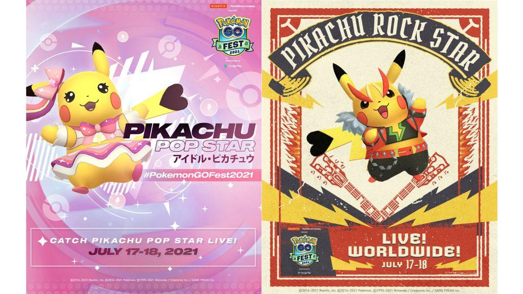 Pokémon GO - kostümierte Pikachu Go-Fest 2021
