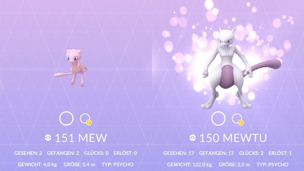 Pokémon GO - Glückspokémon Pokedex