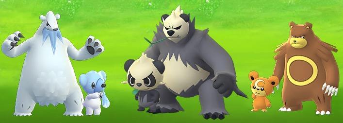 Pokemon GO Bären