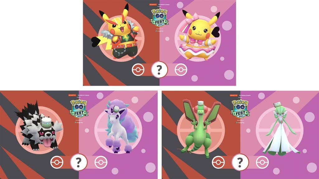 Pokémon GO Fest 2021 Kostüme