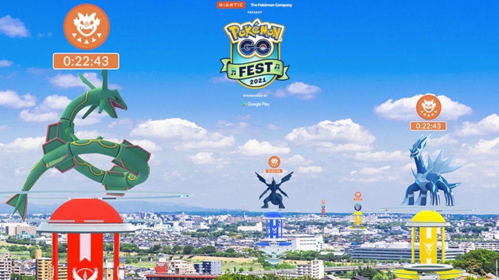 GO Fest 2021 Raids