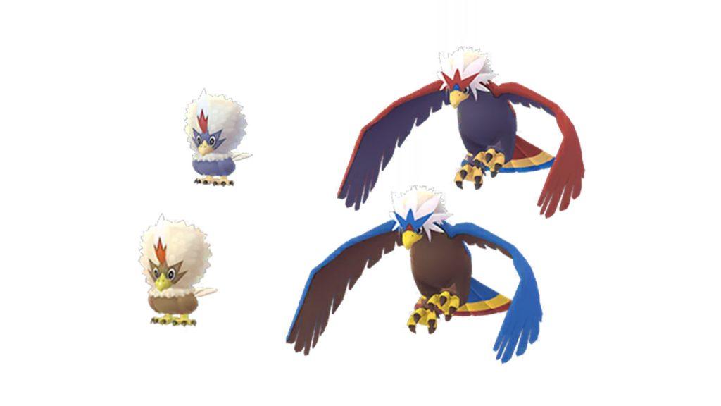 Pokemon GO - Geronimatz Shiny