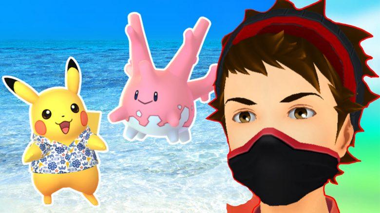 Pokémon GO Pikachu Corasonn