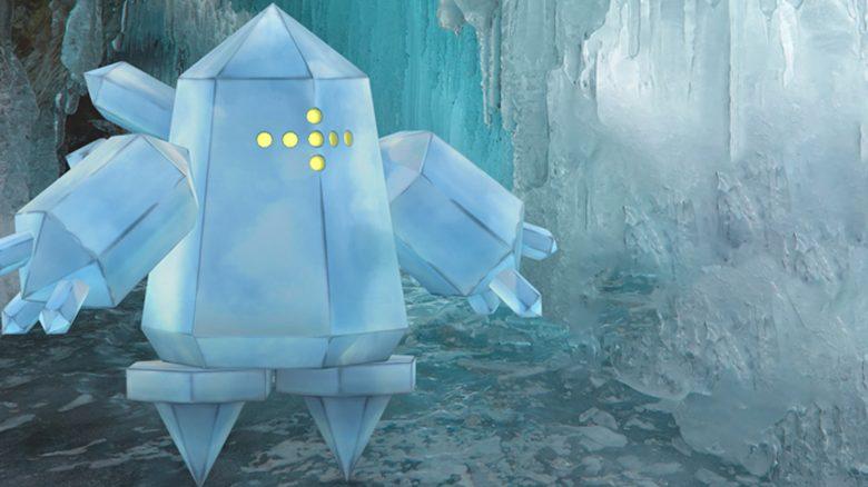 Pokémon GO Regice Titel