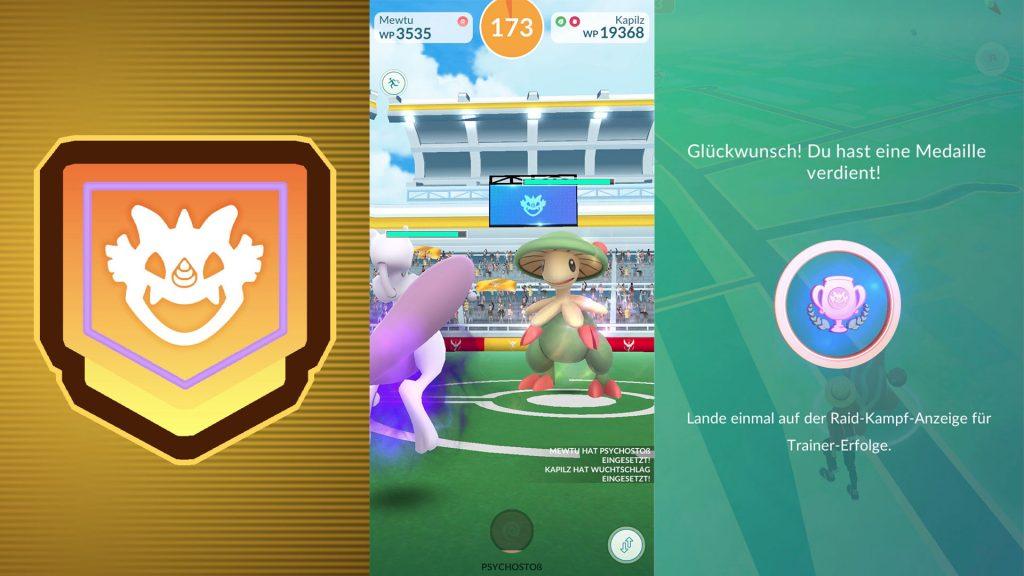 Pokemon GO-neue Raid-Arena