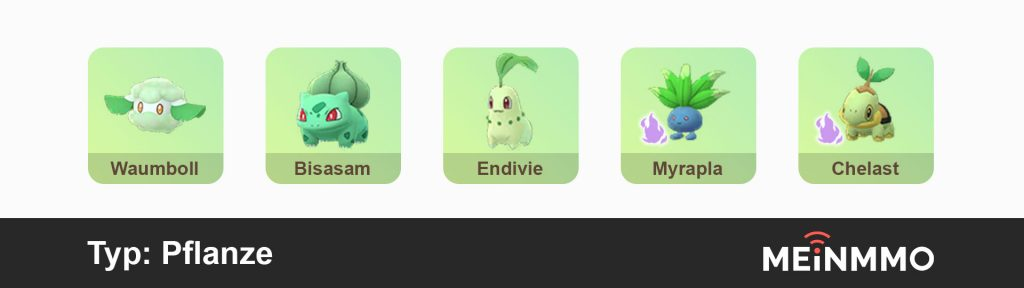 Pokemon Go PVP-Empfehlung Pflanze
