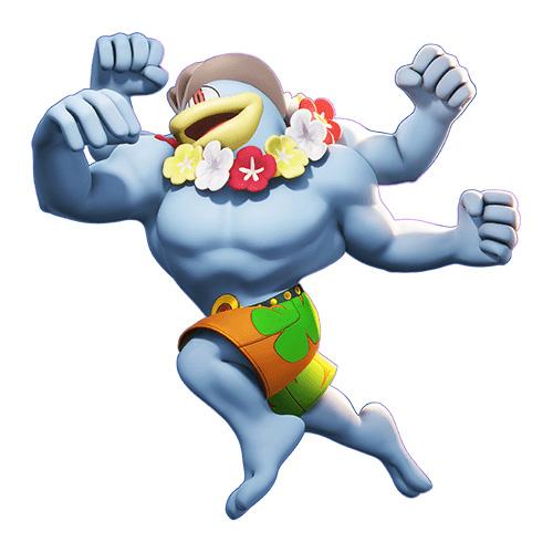 Pokémon Unite Machomei Skin