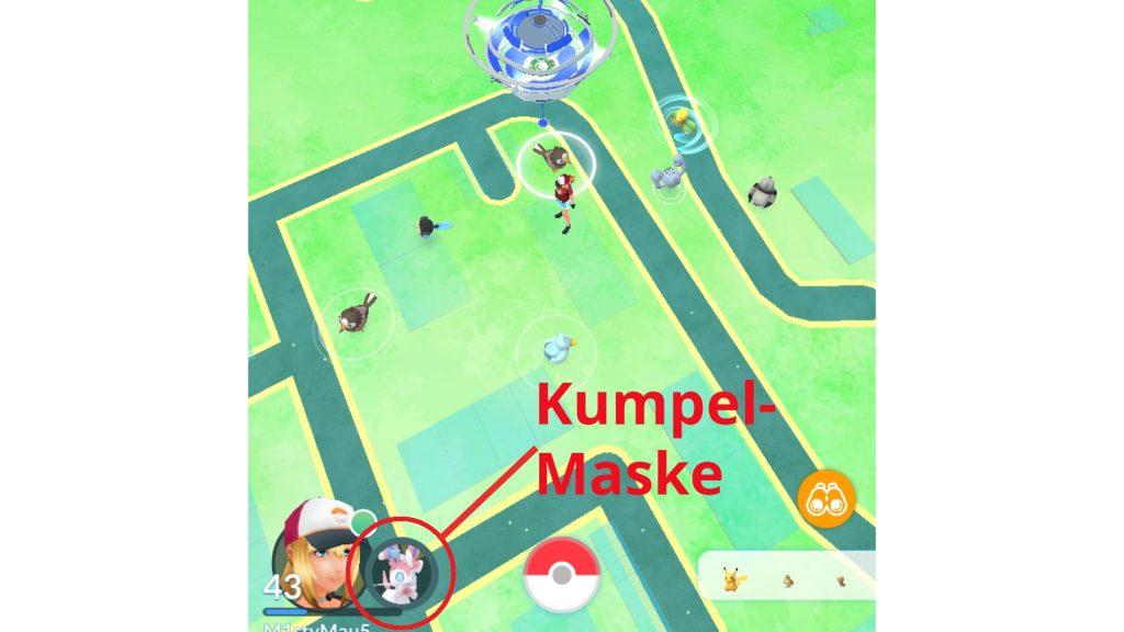 Pokémon GO - Screenshot Kumpel