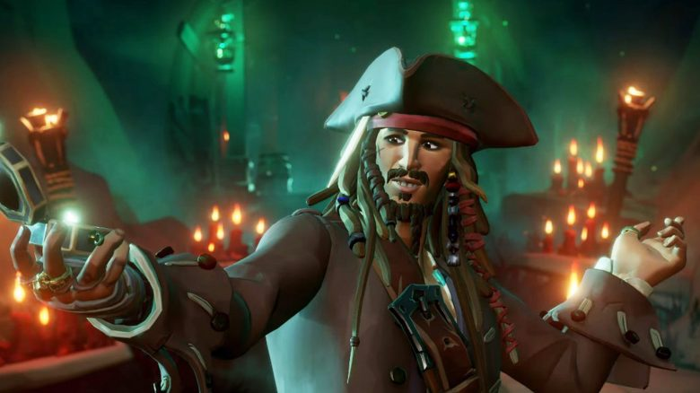 Sea of Thieves Jack Sparrow Titel