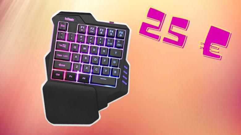Ich hab mir eine Einhand-Tastatur für meine PS4 und PC gekauft – So gut ist das Keypad für 25 €